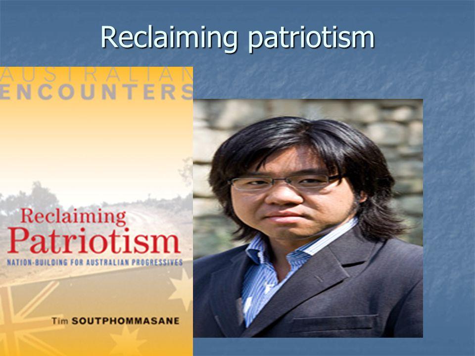 Reclaiming patriotism