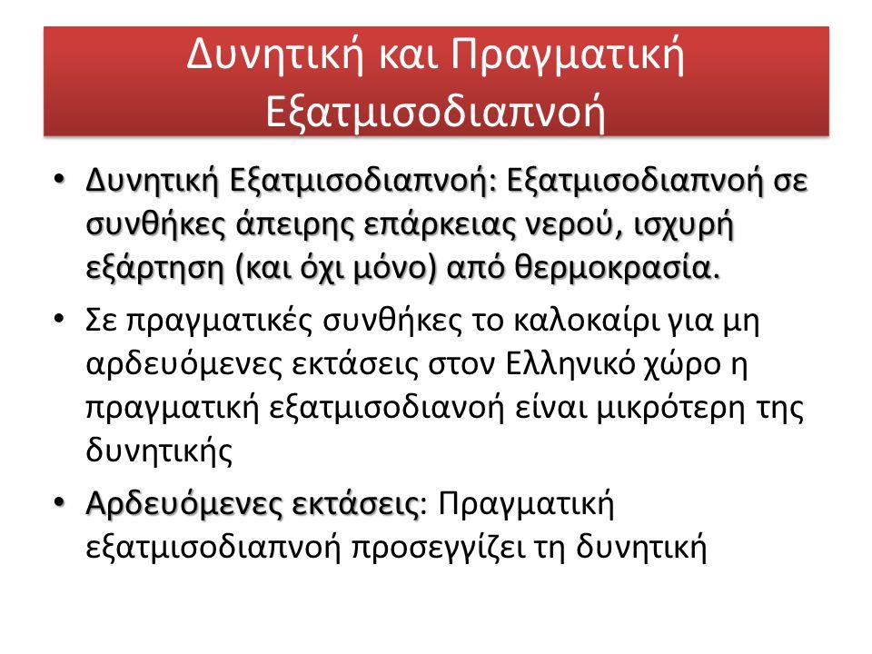 Χρυσάνθου, 2013 Εννοιολογικό μοντέλο, χρήση φυσικού αναλόγου Π.χ. ταμιευτήρα (εκτός ύλης)