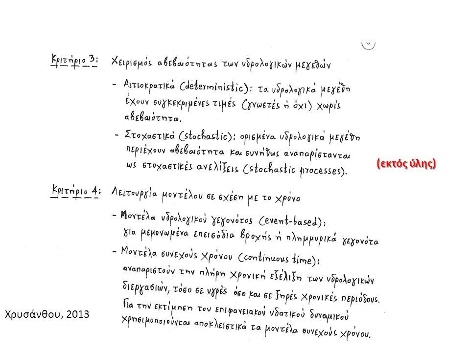 Χρυσάνθου, 2013 (εκτός ύλης)