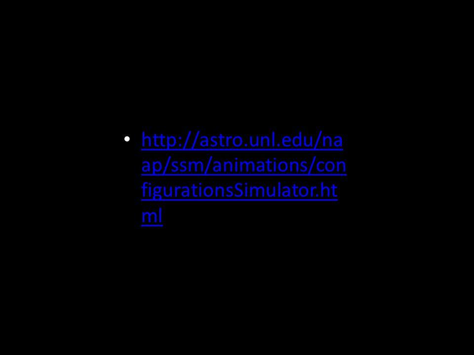 http://astro.unl.edu/na ap/ssm/animations/con figurationsSimulator.ht ml http://astro.unl.edu/na ap/ssm/animations/con figurationsSimulator.ht ml