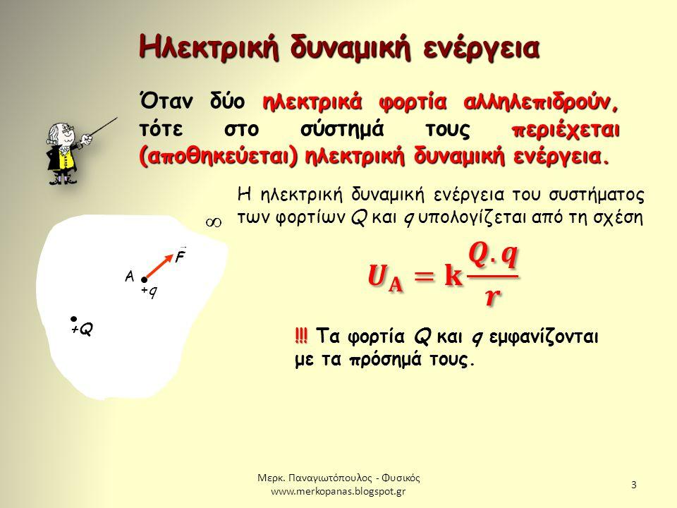 Μερκ.Παναγιωτόπουλος - Φυσικός www.merkopanas.blogspot.gr 24 1.