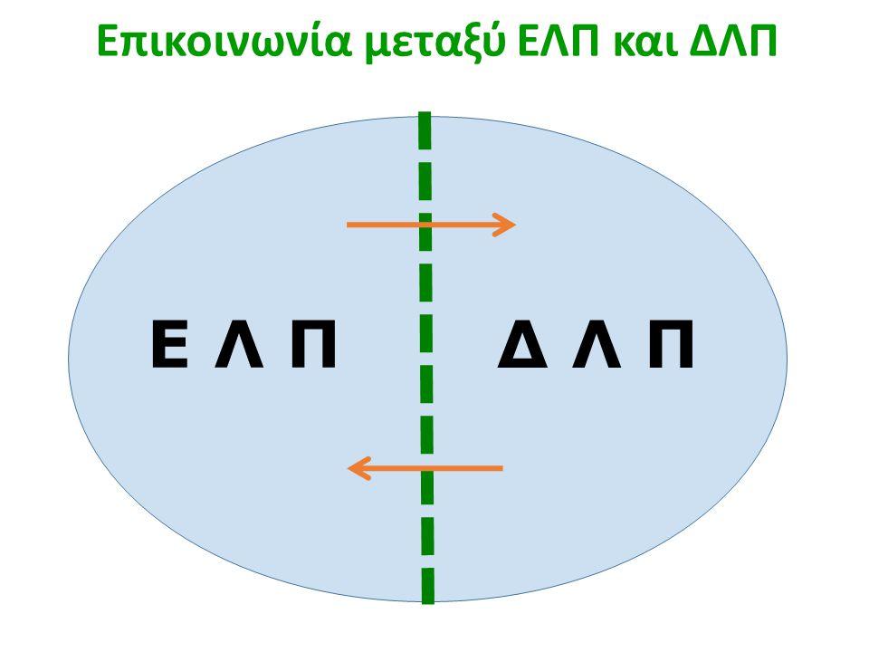 Επικοινωνία μεταξύ ΕΛΠ και ΔΛΠ Ε Λ Π Δ Λ Π