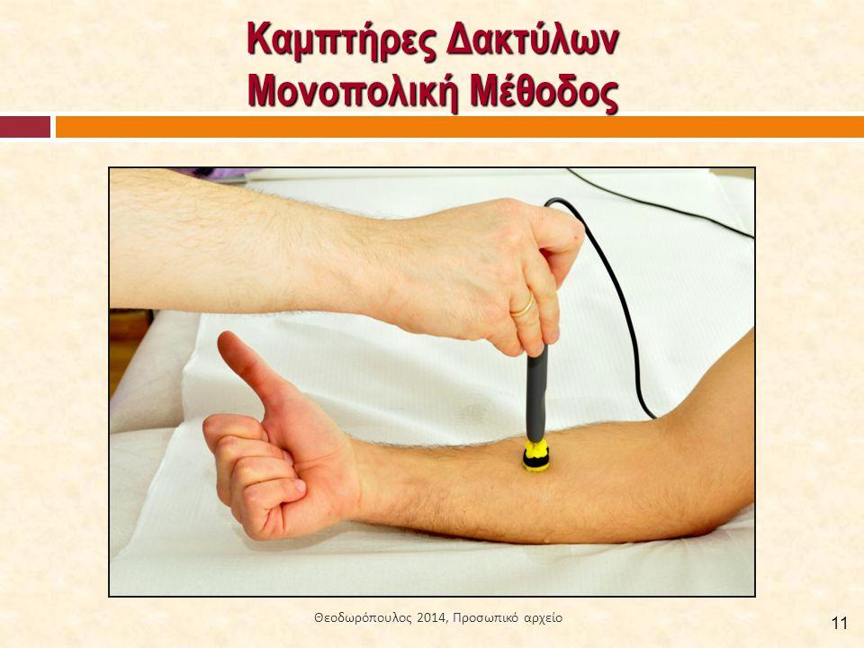 Καμπτήρες Δακτύλων Μονοπολική Μέθοδος 11 Θεοδωρόπουλος 2014, Προσωπικό αρχείο