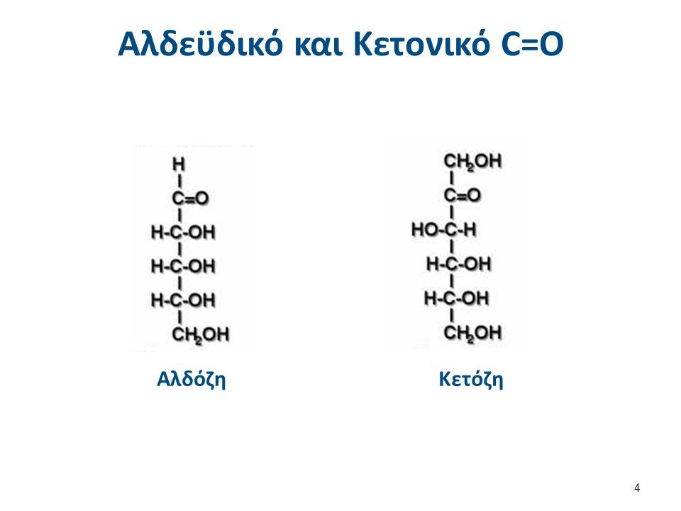 Αλδεϋδικό και Κετονικό C=O ΑλδόζηΚετόζη 4