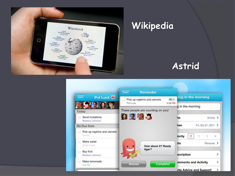 Astrid Wikipedia