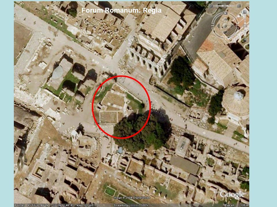 Forum Romanum: Regia
