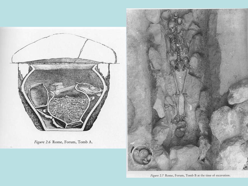 Τα θεμέλια του ναού του Jupiter Optimus Maximus από tufo pisolitico ( Cappellaccio )