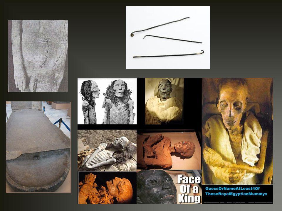 ΑΛΑΣΚΑ -Παρόμοιες συνθήκες με Γροιλανδία -Φυσική μουμιοποίηση -1.600 ετών μούμια γυναίκας (μεγάλης ηλικίας) σε παραλιακό βράχο: τατουάζ στα χέρια, σκούρο καφέ δέρμα, εσωτερικά όργανα διατηρημένα -5 οικογενειακά μέλη σε γκρεμισμένο σπίτι, χρονολογίας 1510 μ.Χ., περίπου, 3 από αυτά σχεδόν σκελετωμένα.