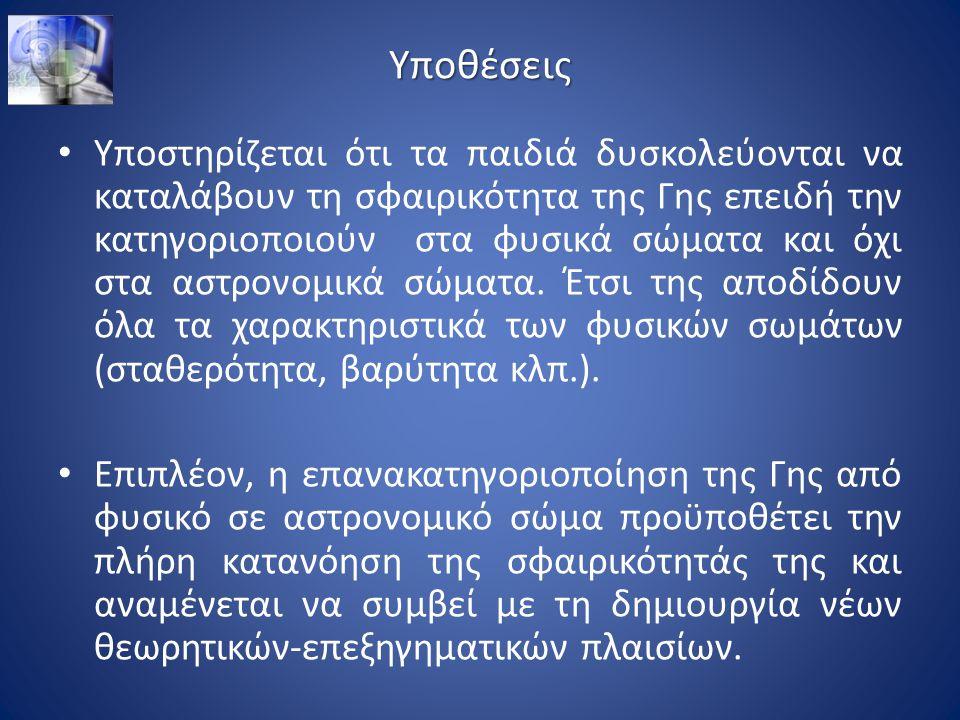 Μέθοδος Δείγμα: 62 Έλληνες μαθητές από 2 δημοτικά σχολεία της Αθήνας.