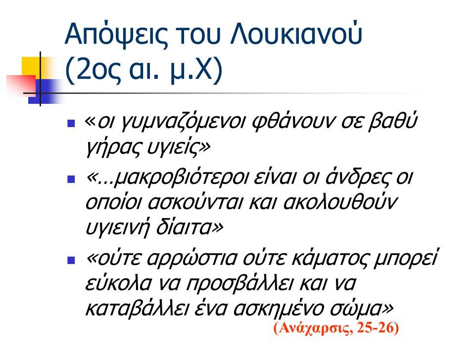 Απόψεις του Λουκιανού (2ος αι.