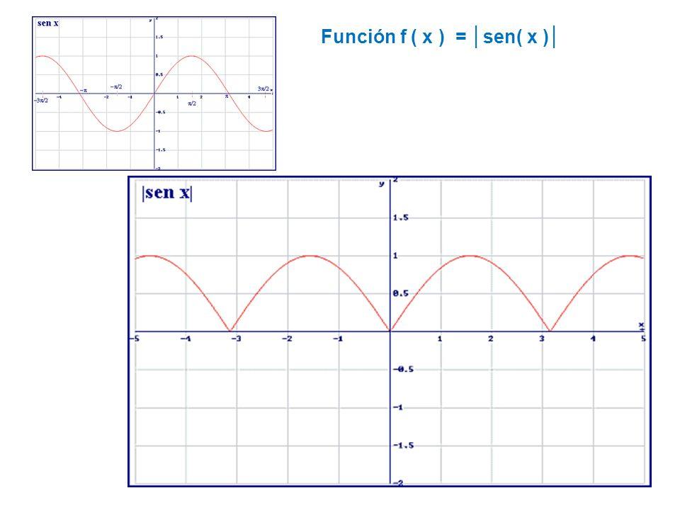 Función f ( x ) = sen( 2x )