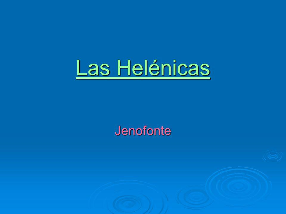 Las Helénicas Jenofonte