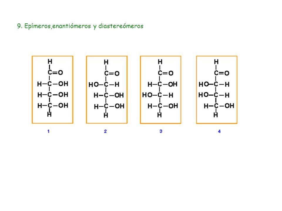 9. Epímeros,enantiómeros y diastereómeros