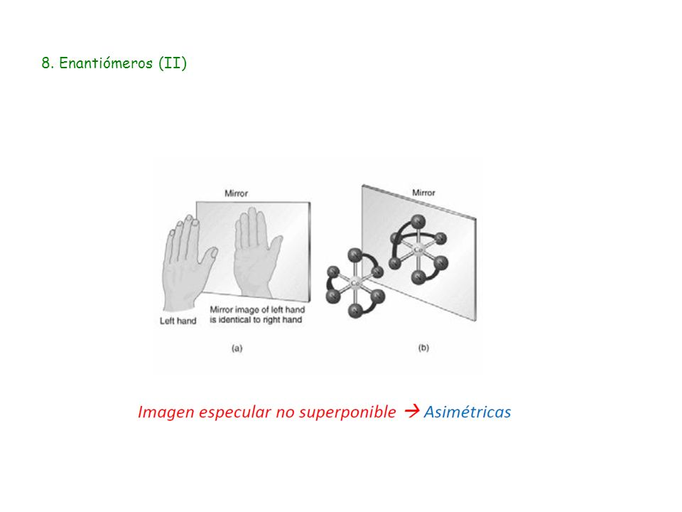 8. Enantiómeros (II)