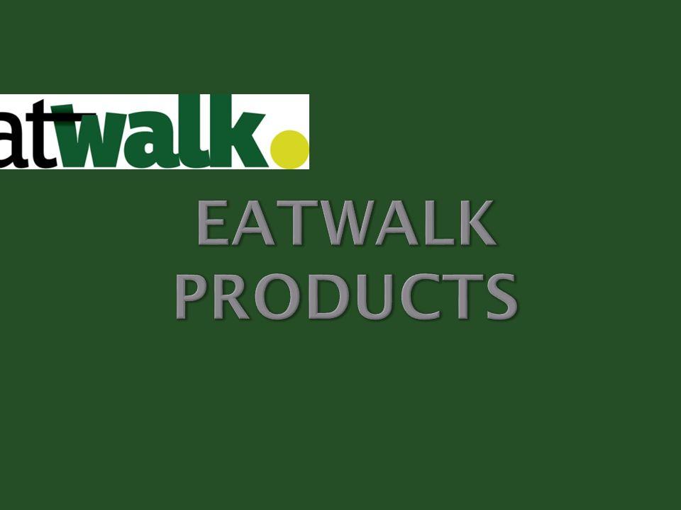 Πρόκειται για εξειδικευμένα προϊόντα από πρώτες ύλες προερχόμενες από την Ελλάδα και άλλες χώρες σε παγκόσμιο επίπεδο, που κατασκευάζονται από την εταιρεία Eatwalk.