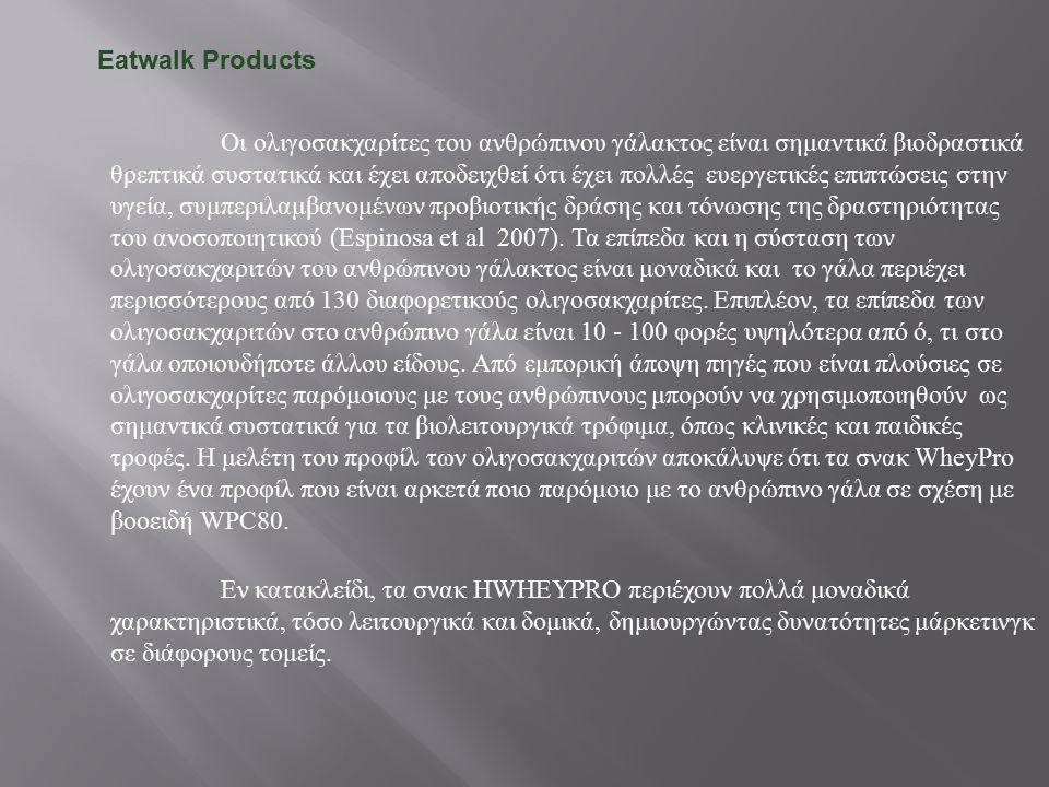 Είδος : Λειτουργικό τρόφιμο Ευρωπαϊκή Πιστοποίηση Κυκλοφορίας ( Κανονισμός 1924/2006) Υψηλή περιεκτικότητα σε πρωτεΐνη Υψηλή περιεκτικότητα σε ακόρεστα λιπαρά Τα υψηλά επίπεδα πρωτεΐνης συμβάλλουν στη διατήρηση μυϊκής μάζας και οστών.