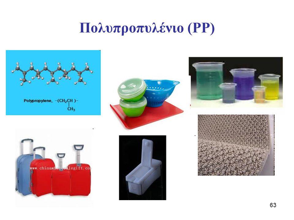 63 Πολυπροπυλένιο (PP)
