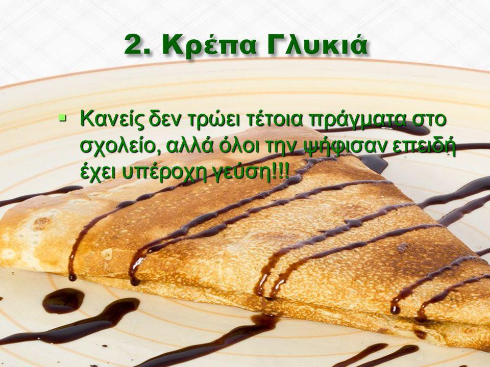  Κανείς δεν τρώει τέτοια πράγματα στο σχολείο, αλλά όλοι την ψήφισαν επειδή έχει υπέροχη γεύση!!!