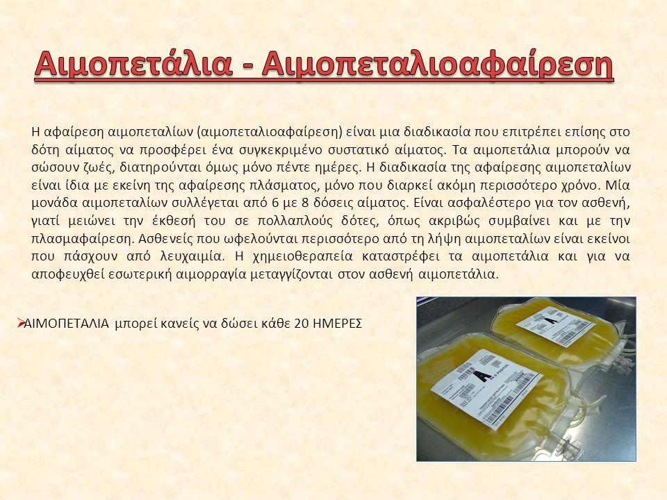 1916-1919 Η πρώτη μετάγγιση αίματος πραγματοποιείται στην Πολυκλινική Αθηνών από τον καθηγητή Σπ.Οικονόμου.