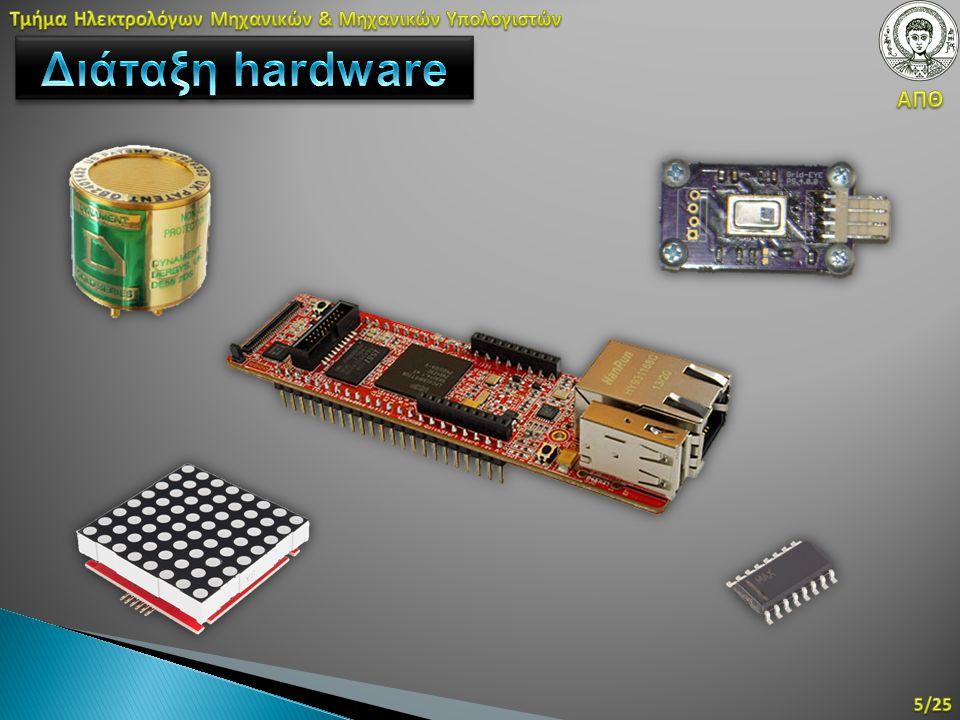 32 καταχωρητές των 64-bit ή 16 των 128- bit Un-/Signed 8, 16, 32, 64 bit, single precision float Ανεξάρτητη γραμμή διοχέτευσης 32 καταχωρητές των 64-bit ή 16 των 128- bit Un-/Signed 8, 16, 32, 64 bit, single precision float Ανεξάρτητη γραμμή διοχέτευσης Ενεργειακή απόδοση – πολλές εντολές ταυτόχρονα με μικρότερο χρόνο εκτέλεσης Κοινή μνήμη και ροή εντολών – ίδιος compiler Μονάδα NEON για κάθε πυρήνα Βρίσκεται στην συντριπτική πλειοψηφία των Cortex-A Ενεργειακή απόδοση – πολλές εντολές ταυτόχρονα με μικρότερο χρόνο εκτέλεσης Κοινή μνήμη και ροή εντολών – ίδιος compiler Μονάδα NEON για κάθε πυρήνα Βρίσκεται στην συντριπτική πλειοψηφία των Cortex-A