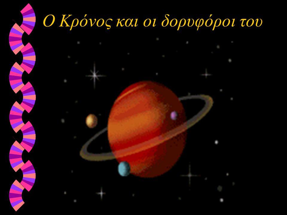 Ο Κρόνος και οι δορυφόροι του