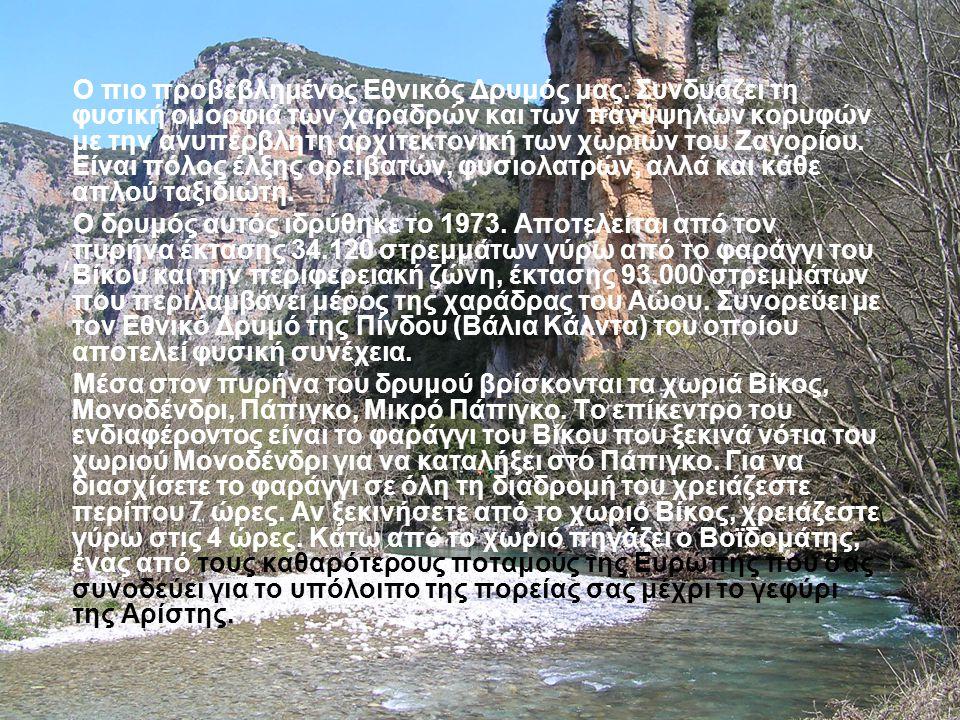 Στην περιοχή του Βίκου- Αώου και συγκεκριμένα στα οροπέδια της Τύμφης υπάρχει μια μικρή ενδιαφέρουσα υδατοσυλλογή, η λάκκα του Τσουμάνη, σε υψόμετρο 1.700 μ.