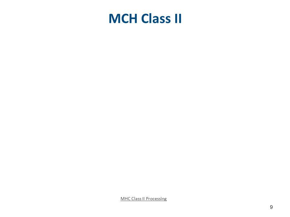 MCH Class II MHC Class II Processing 9