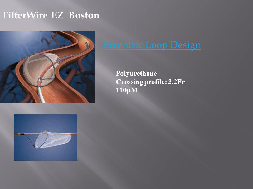 FilterWire EZ Boston Eccentric Loop Design Polyurethane Crossing profile: 3.2Fr 110µM