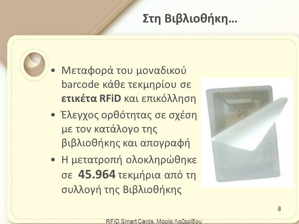 3M RFiD Digital Library Assistant (DLA) Φορητή συσκευή ανάγνωσης.