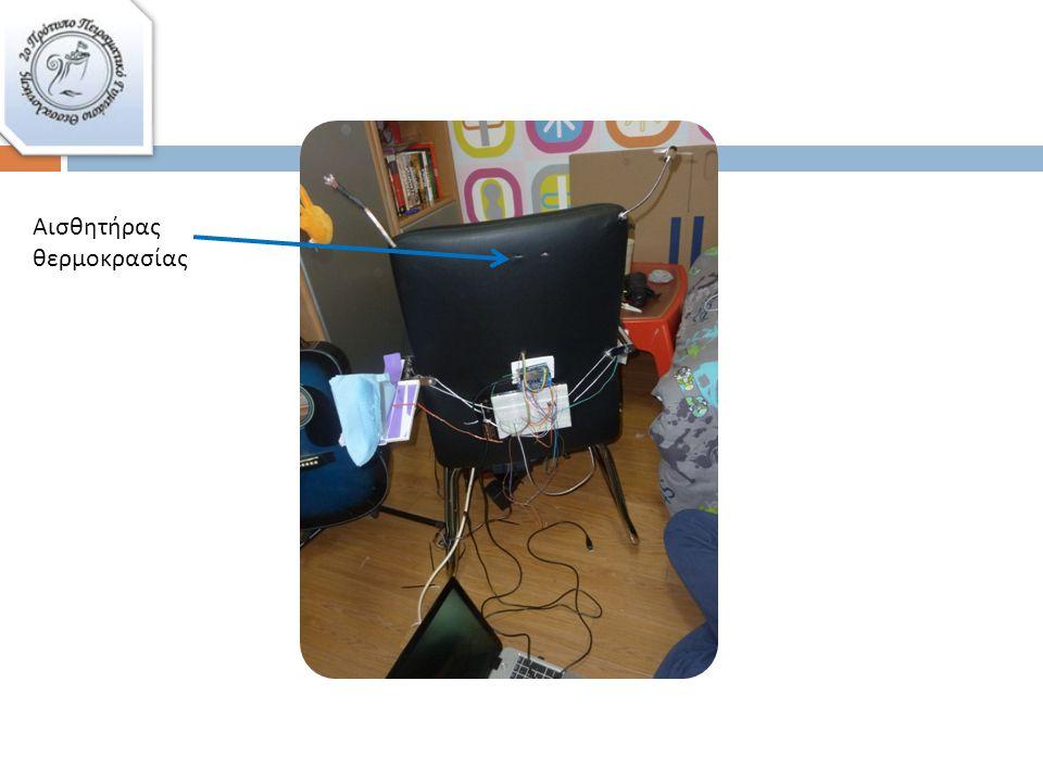 Οι λειτουργίες της καρέκλας – Λεπτομερειακή περιγραφή …2  Το photocell Με το photocell η καρέκλα μετράει την ένταση του φωτός στο χώρο.