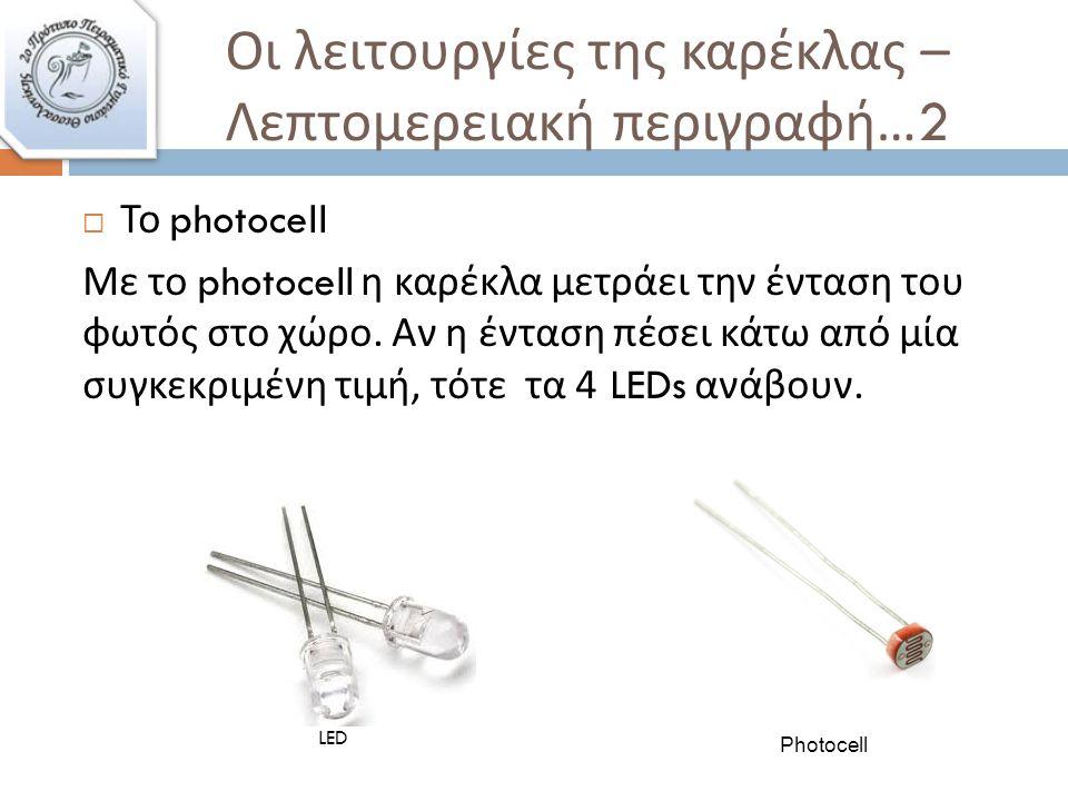 Αισθητήρας θερμοκρασίας Photocell
