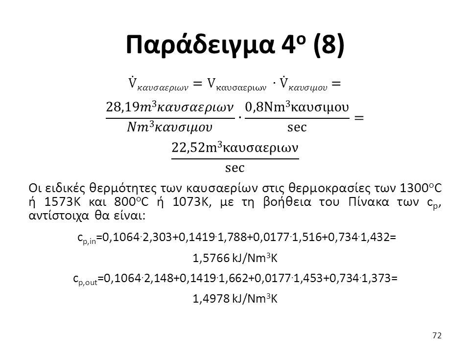 Παράδειγμα 4 ο (8) 72