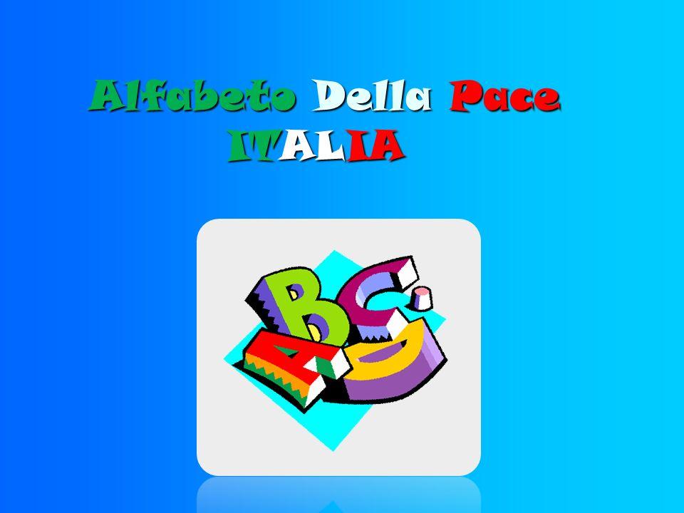 Alfabeto Della Pace ITALIA