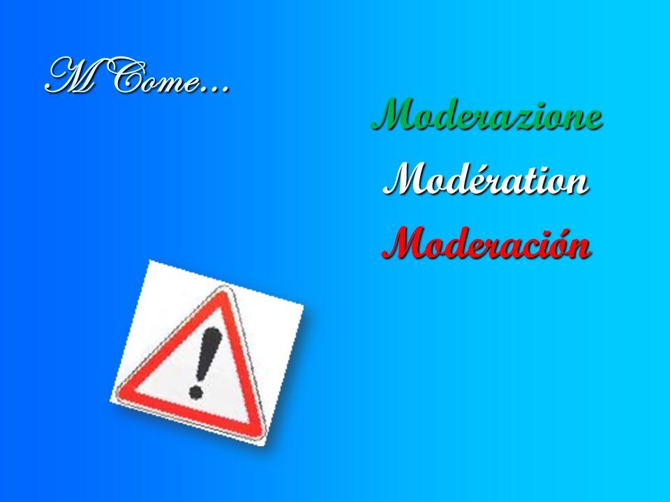 M Come… ModerazioneModérationModeración