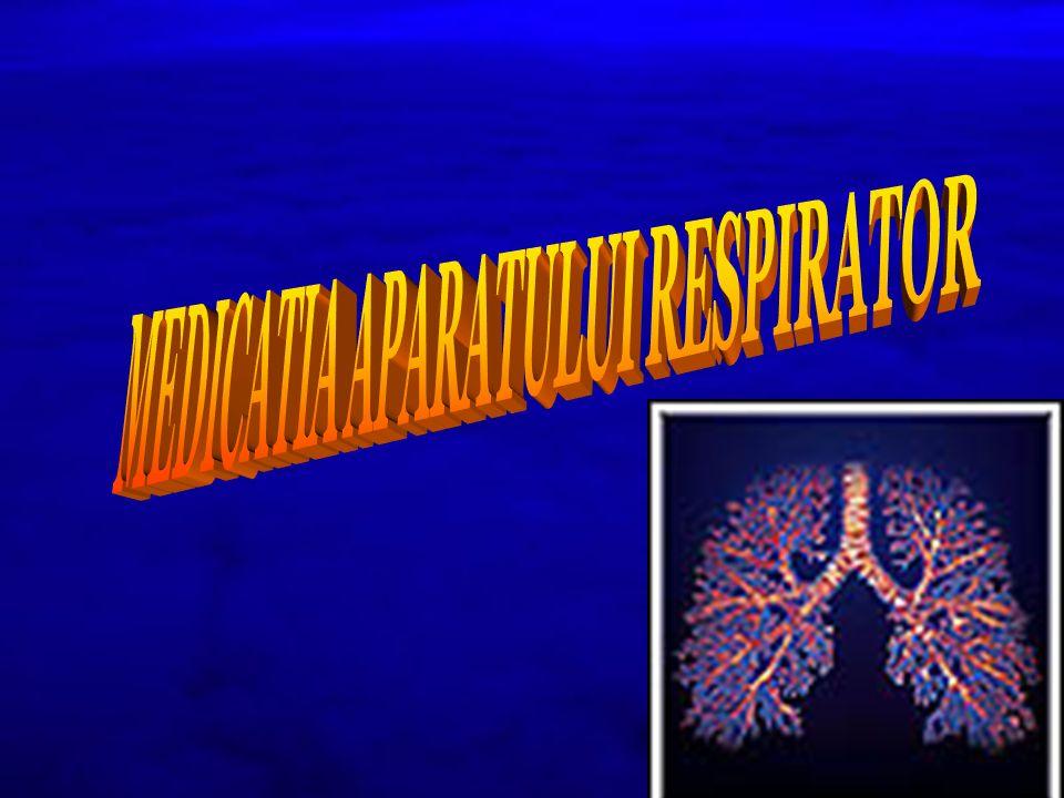 EXPECTORANTE SECRETOLITICE Preparate locale – aerosoli mucolitice cu actiune intensa, prelungita (12- 24 ore) utilizate in: - mucoviscidoza - bronsiectazie - postoperator - imunodeprimati Prezentare: BISOLVON MESNA - MISTABRON, MUCOFLUID
