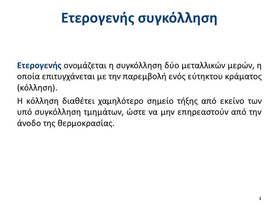 Αρτύματα (3 από 3) Για συγκόλληση βασικών κραμάτων που περιέχουν χρώμιο, το άρτυμα πρέπει να περιέχει φθοριούχο άλας.