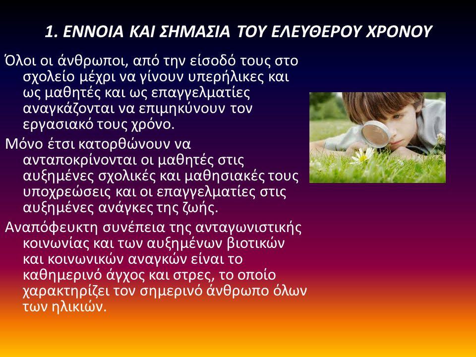 4.Οι βιολογικές και άλλες ανάγκες του παιδιού και του νέου.
