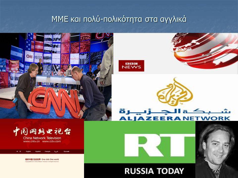 ΜΜΕ και πολύ-πολικότητα στα αγγλικά