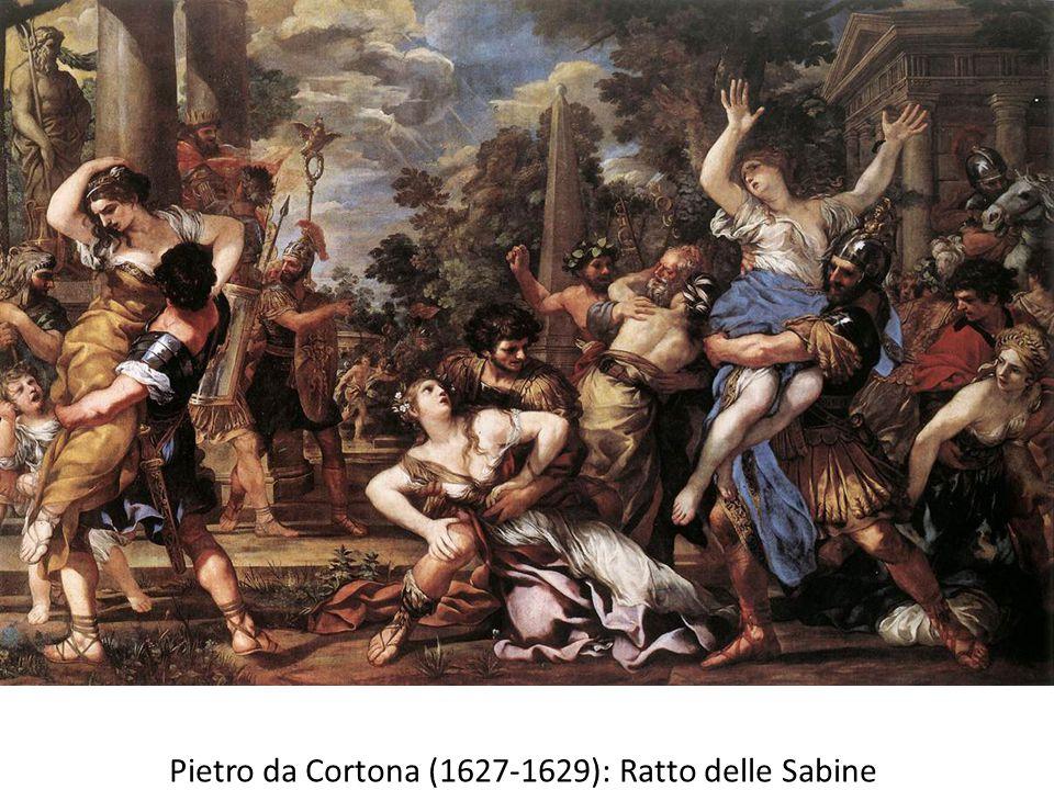 Pietro da Cortona (1627-1629): Ratto delle Sabine