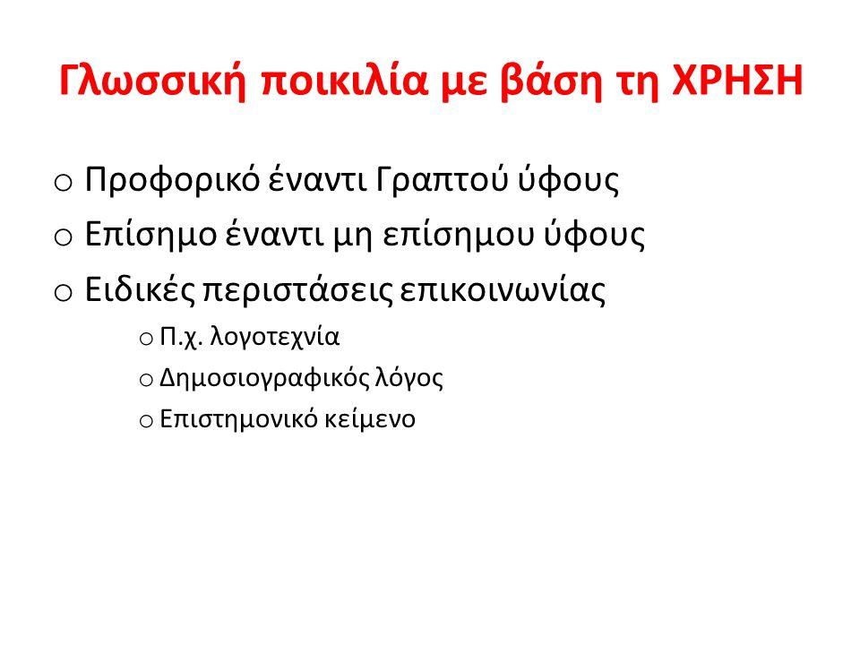 Δείγματα δημοσιογραφικού ύφους: τίτλοι εφημερίδων 12-10-2010 Παρατείνεται η ομηρία της ελληνικής οικονομίας «Πράσινο φως» ΔΝΤ για επιμήκυνση του χρέους «Λύνει» τη θηλιά το ΔΝΤ Ευκολίες…πληρωμής από τρόικα και ΔΝΤ Φως στο τούνελ: Τριπλή ανάσα για την οικονομία Νέο Μνημόνιο μακράς διαρκείας θέλει το ΔΝΤ