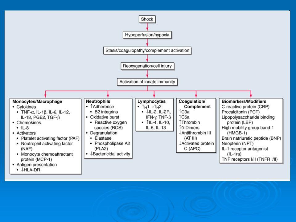 ΠΑΡΑΚΛΙΝΙΚΟΣ ΕΛΕΓΧΟΣ ● ΗΚΓ: - Συνήθως φλεβοκομβική ταχυκαρδία - Ενίοτε μη ειδικές διαταραχές ST-T ● Γενική ούρων: Πυοσφαίρια, λεύκωμα, ερυθρά ● Γενική ΕΝΥ: Λευκοκυττάρωση, λεύκωμα, LDH, γλυκόζη ● C/T: Ευρήματα αναλόγως παθήσεως (παγκρεατίτις, τραύμα, αιμορραγία, κ.ά) ● Καλλιέργειες αίματος, ούρων, ΕΝΥ