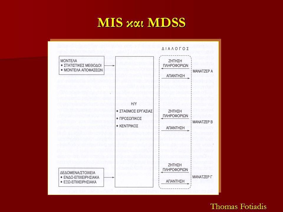 MIS και MDSS Thomas Fotiadis