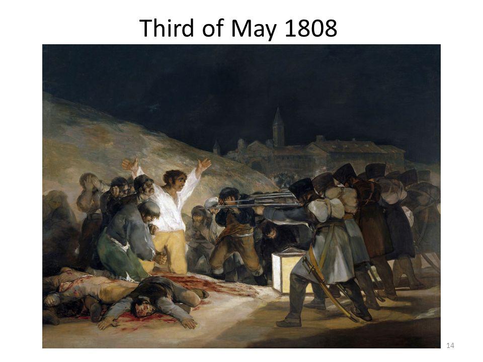 Third of May 1808 14
