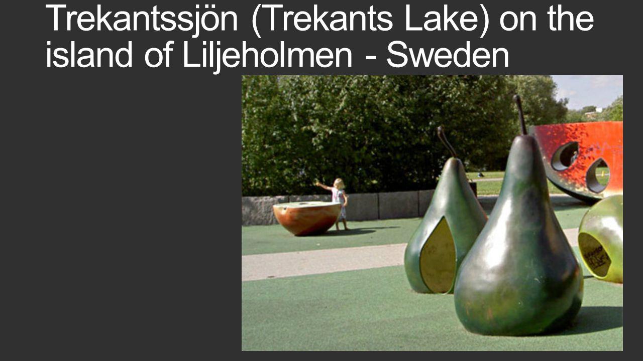 Trekantssjön (Trekants Lake) on the island of Liljeholmen - Sweden