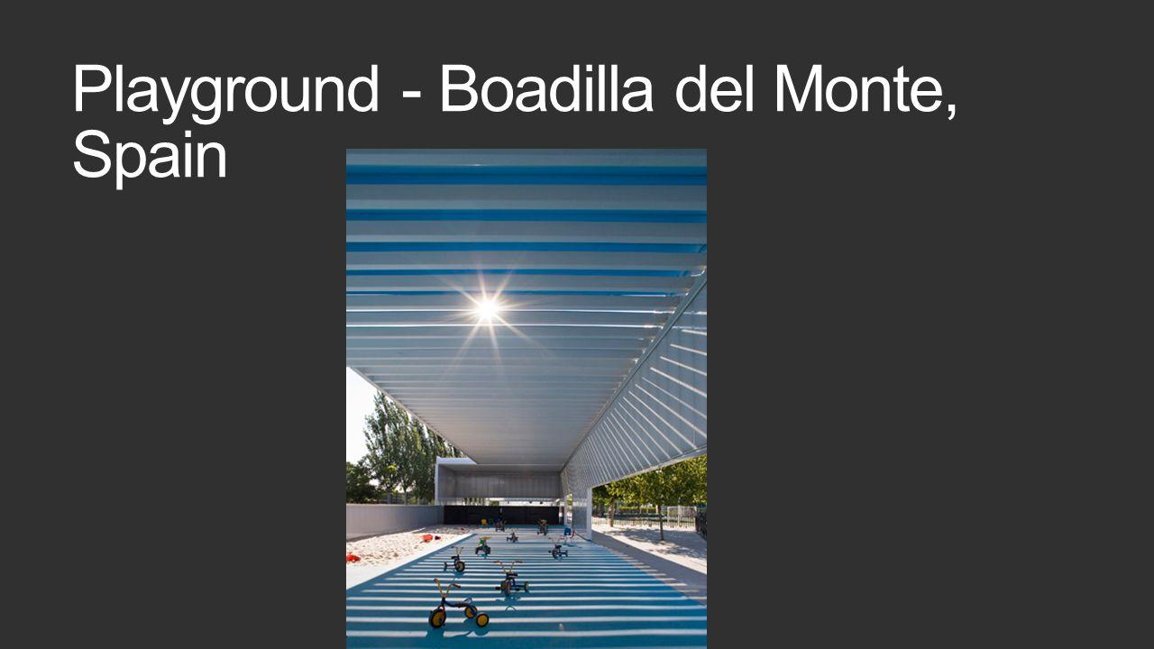 Playground - Boadilla del Monte, Spain