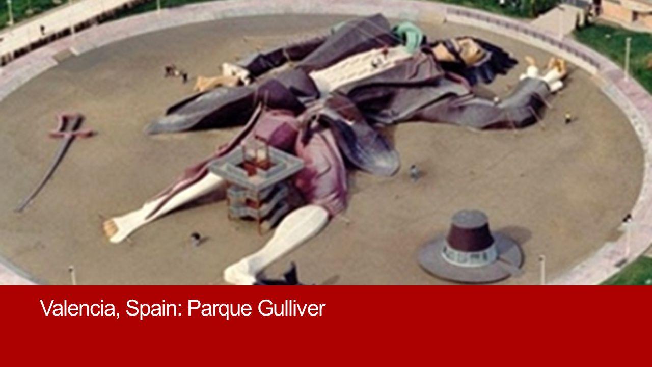 Valencia, Spain: Parque Gulliver