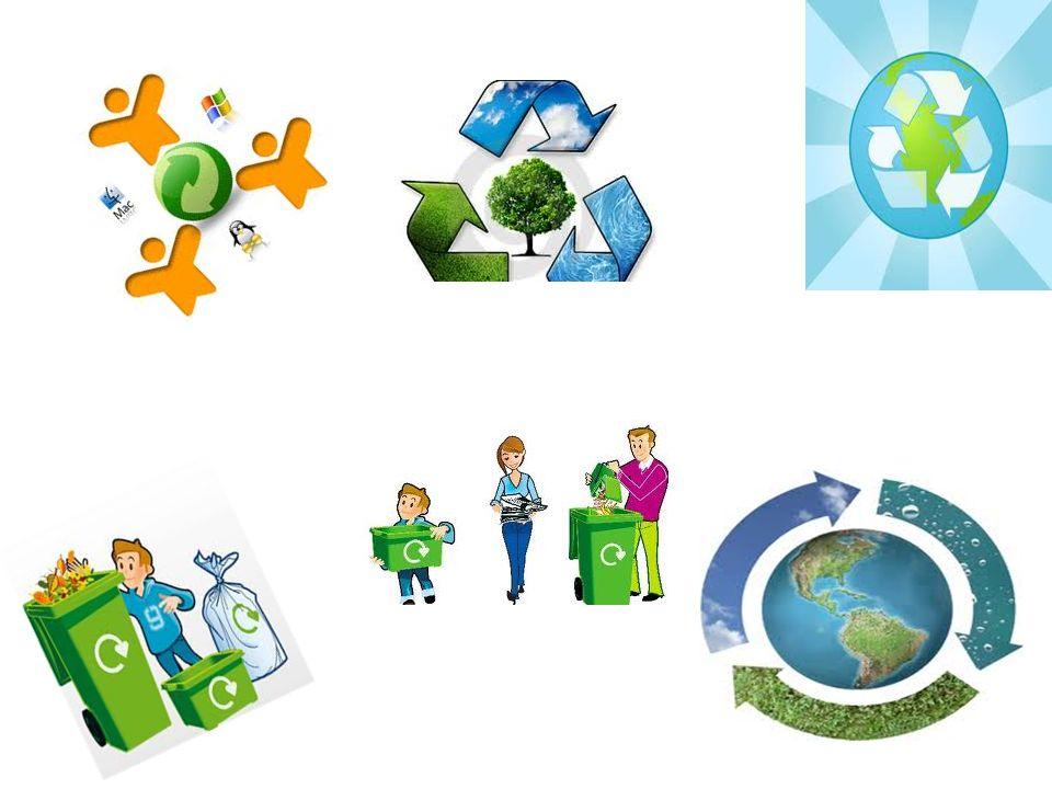 ΔΙΑΔΙΚΑΣΙΑ Στην διαδικασία αυτή συνήθως τα απορρίμματα μετατρέπονται σε πρώτες ύλες από τις οποίες παράγονται νέα υλικά.
