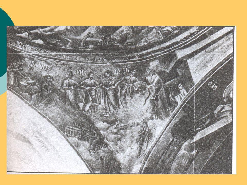 Χοροί με ιστορικό περιεχόμενο  Καγκελευτός (Ιερισσό Χαλκιδικής σε ανάμνηση της σφαγής του 1821)  Μακρυνίτσα (Τελετουργικός γυναικείος χορός της Νάουσας αναπαράσταση της θυσίας των γυναικών το 1822)  Χορός του Ζαλόγγου (Τραγικός χορός των γυναικών της περιοχής αναπαράσταση της θυσίας του 1803)