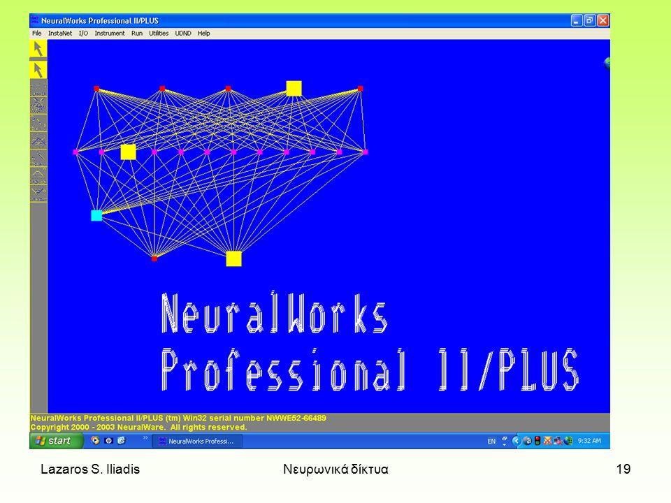 Lazaros S.IliadisΝευρωνικά δίκτυα18 Βιβλιογραφία 1.Ι.