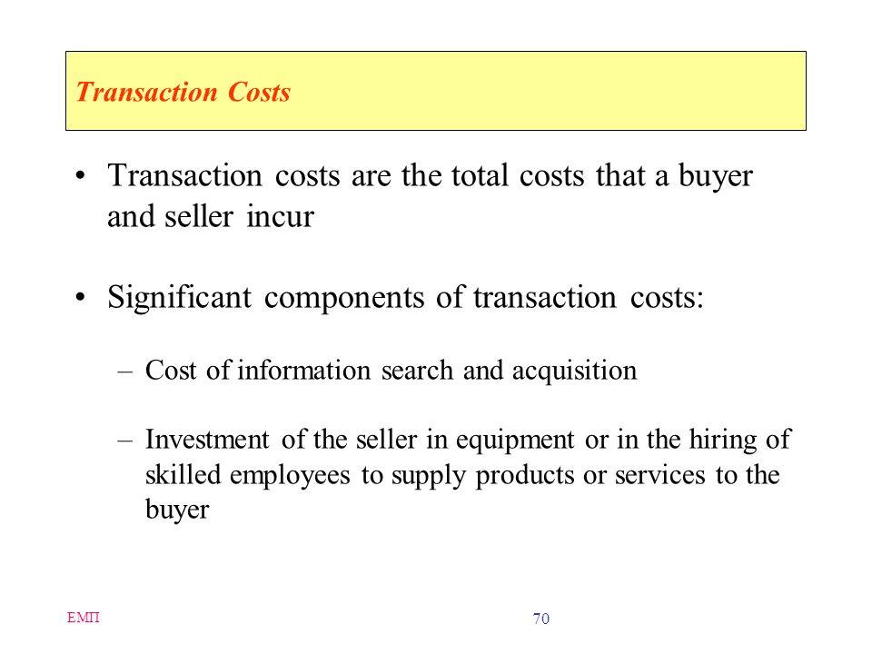 ΕΜΠ 69 Economic Forces and Electronic Commerce Economics –Study of how people allocate scarce resources Two conditions of a market –Potential sellers
